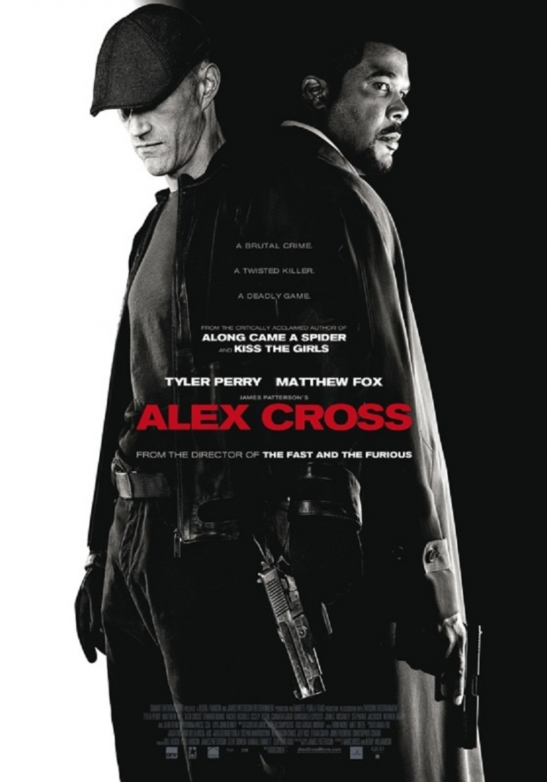 Alex Cross poster, © 2012 Dutch FilmWorks