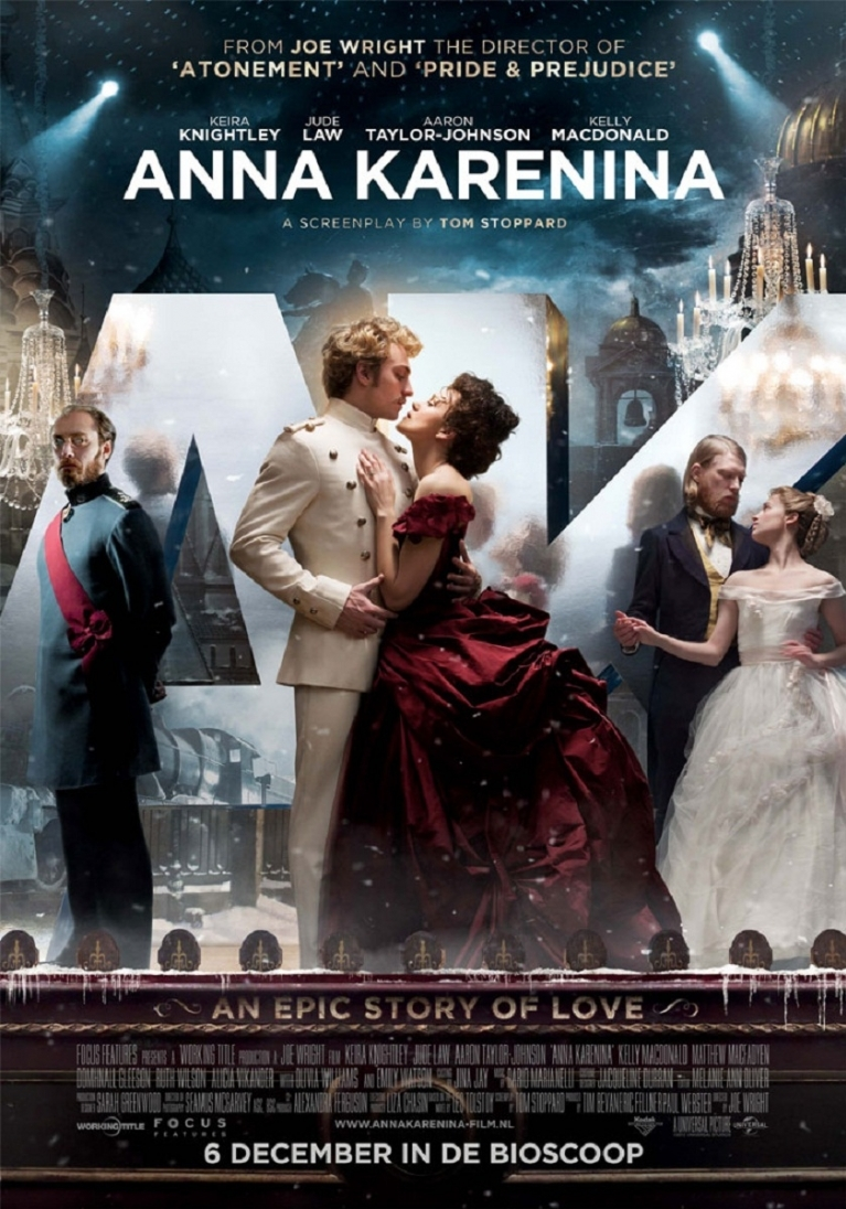 Anna Karenina poster, © 2012 Universal Pictures International