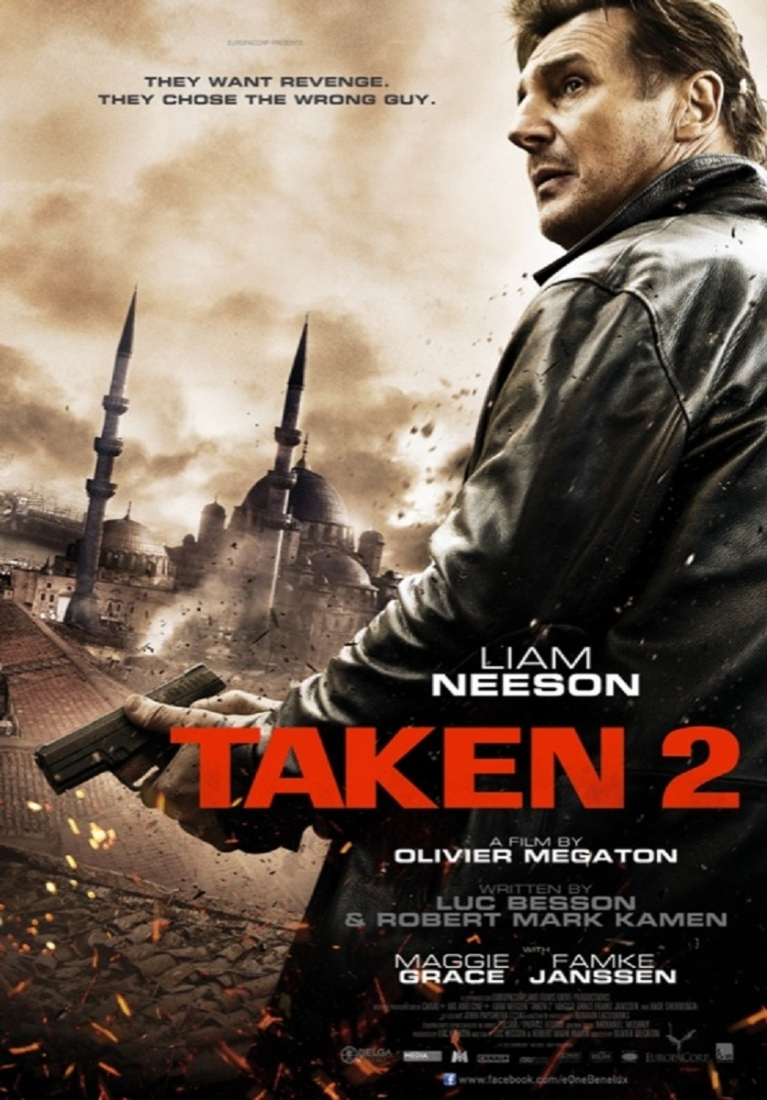 Taken 2 poster, © 2012 E1 Entertainment Benelux
