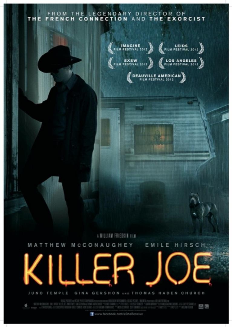 Killer Joe poster, © 2011 E1 Entertainment Benelux