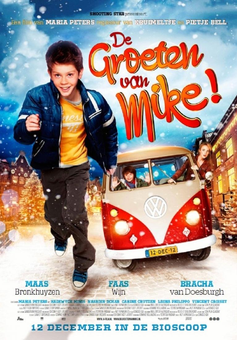 De Groeten van Mike! poster, © 2012 A-Film Distribution