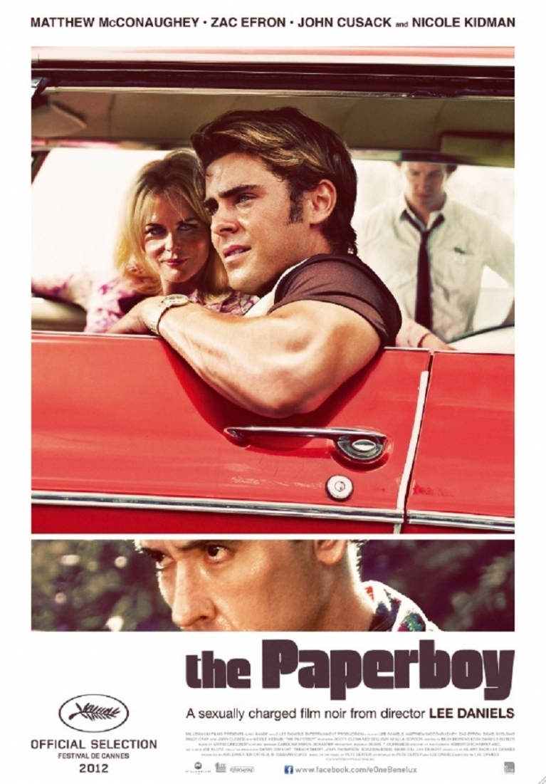 The Paperboy poster, © 2012 E1 Entertainment Benelux