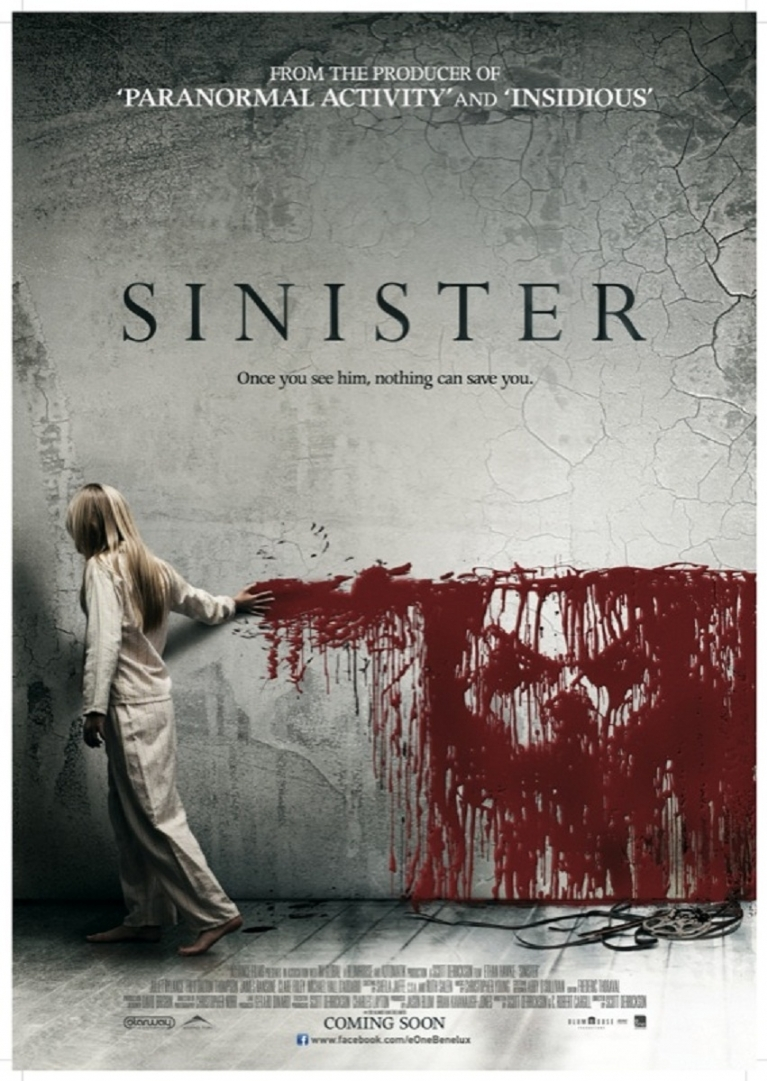 Sinister poster, © 2012 E1 Entertainment Benelux