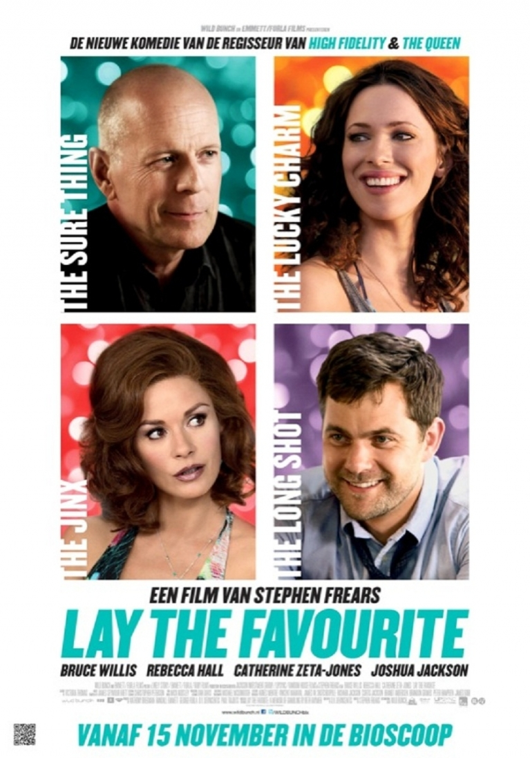 Lay the Favourite poster, © 2012 Wild Bunch