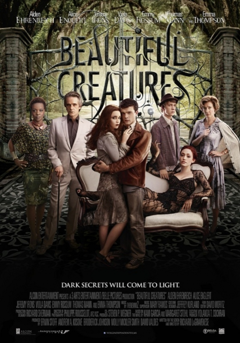 Beautiful Creatures poster, © 2013 Independent Films