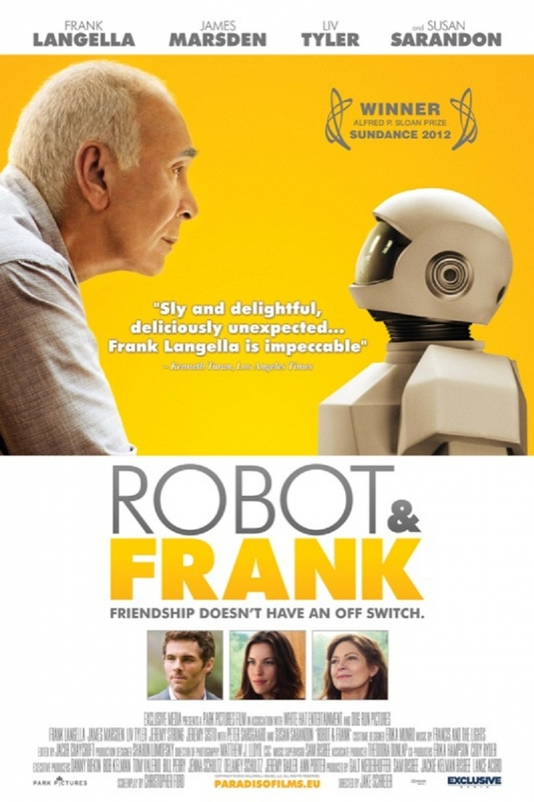 Robot and Frank poster, © 2012 Paradiso