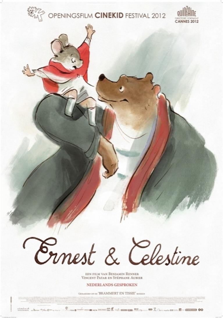 Ernest et Célestine poster, © 2012 Cinéart