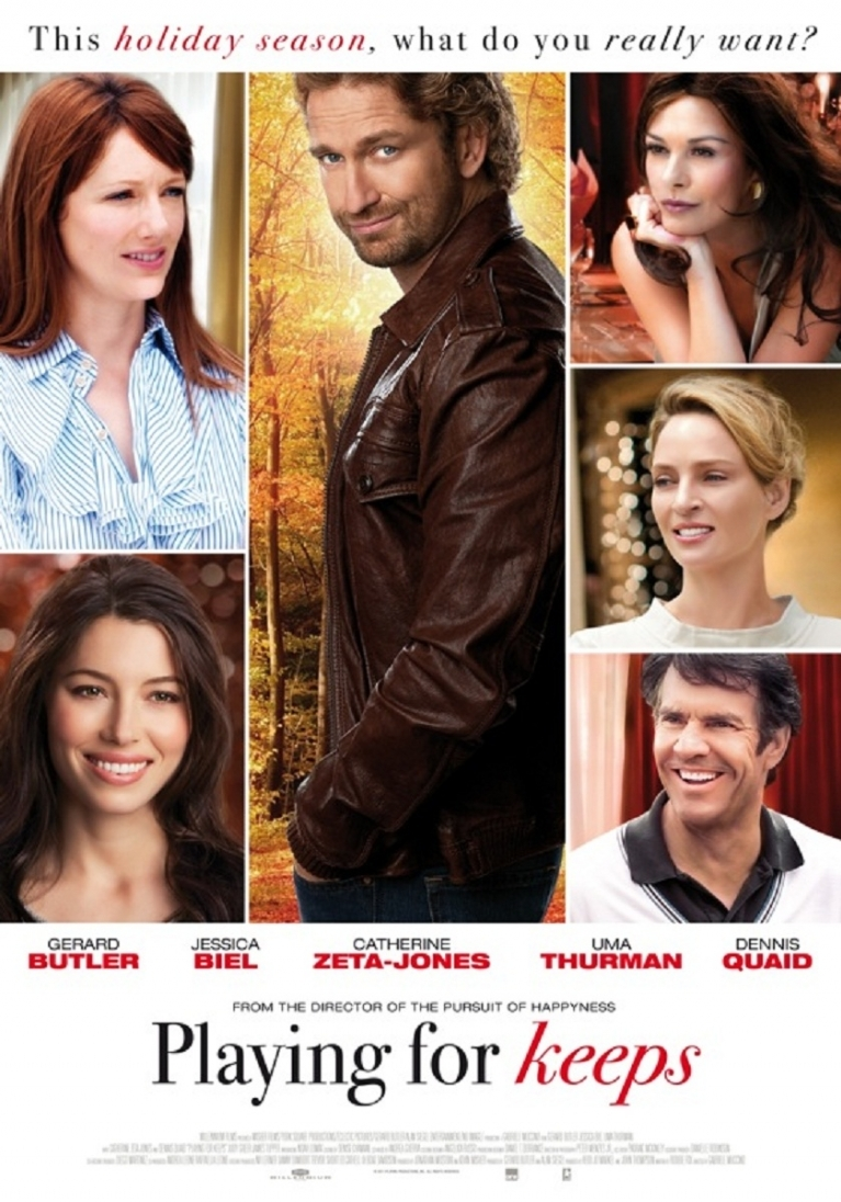 Playing for Keeps poster, © 2012 Dutch FilmWorks