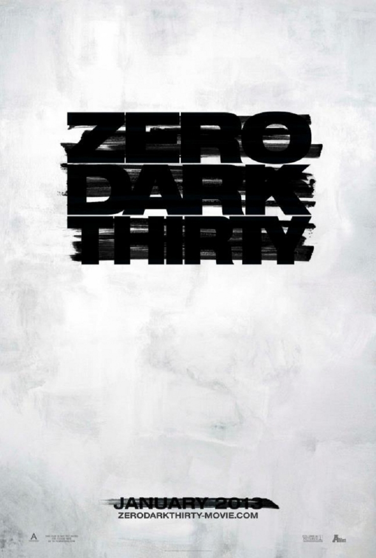 Zero Dark Thirty poster, © 2012 A-Film Distribution