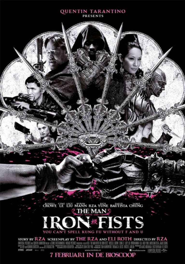 The Man with the Iron Fists poster, © 2012 Universal Pictures