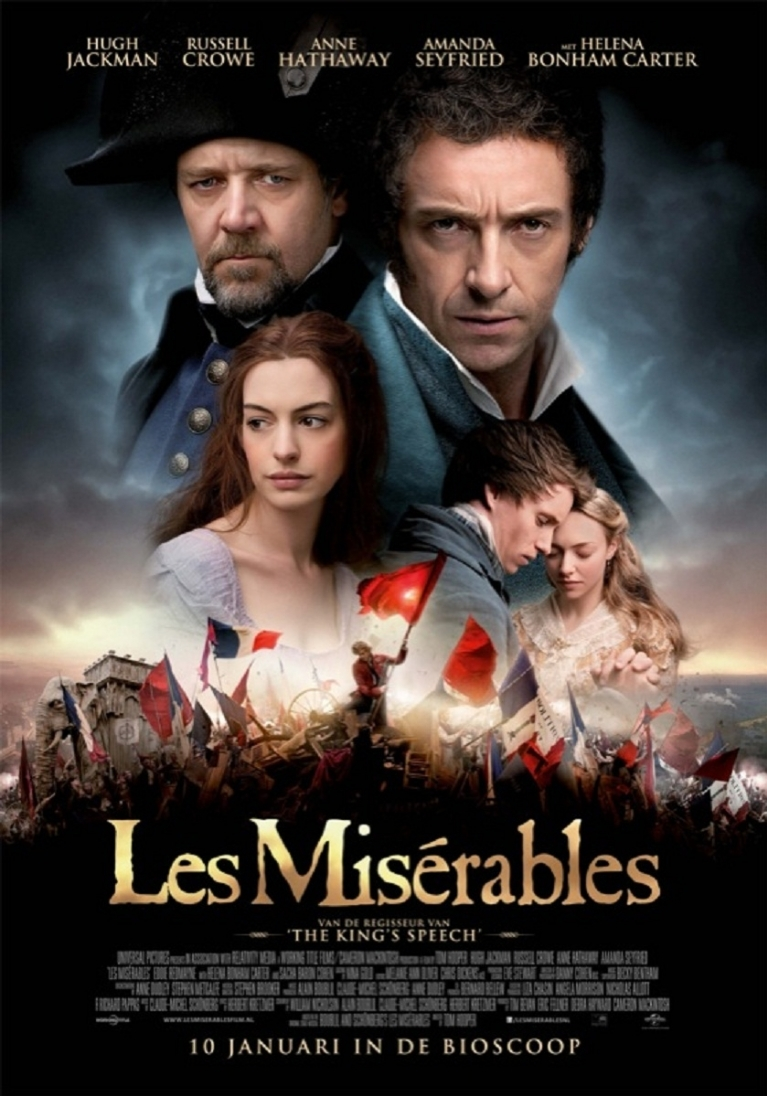 Les Misérables poster, © 2012 Universal Pictures International