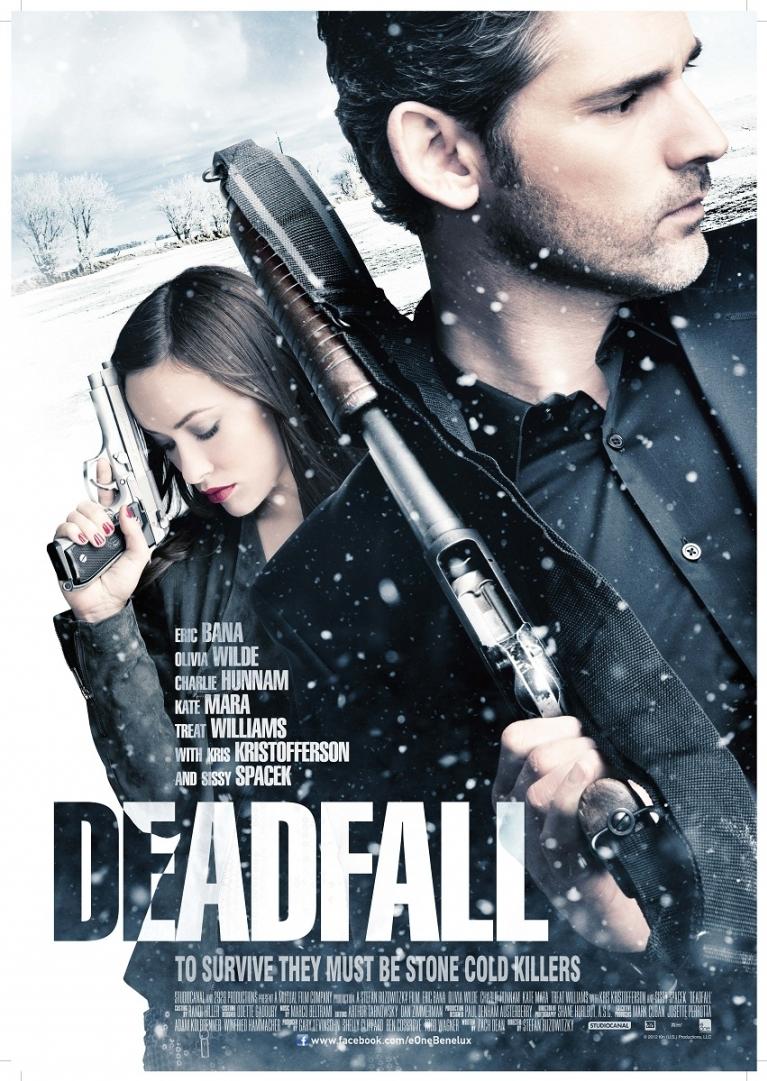 Deadfall poster, © 2012 E1 Entertainment Benelux