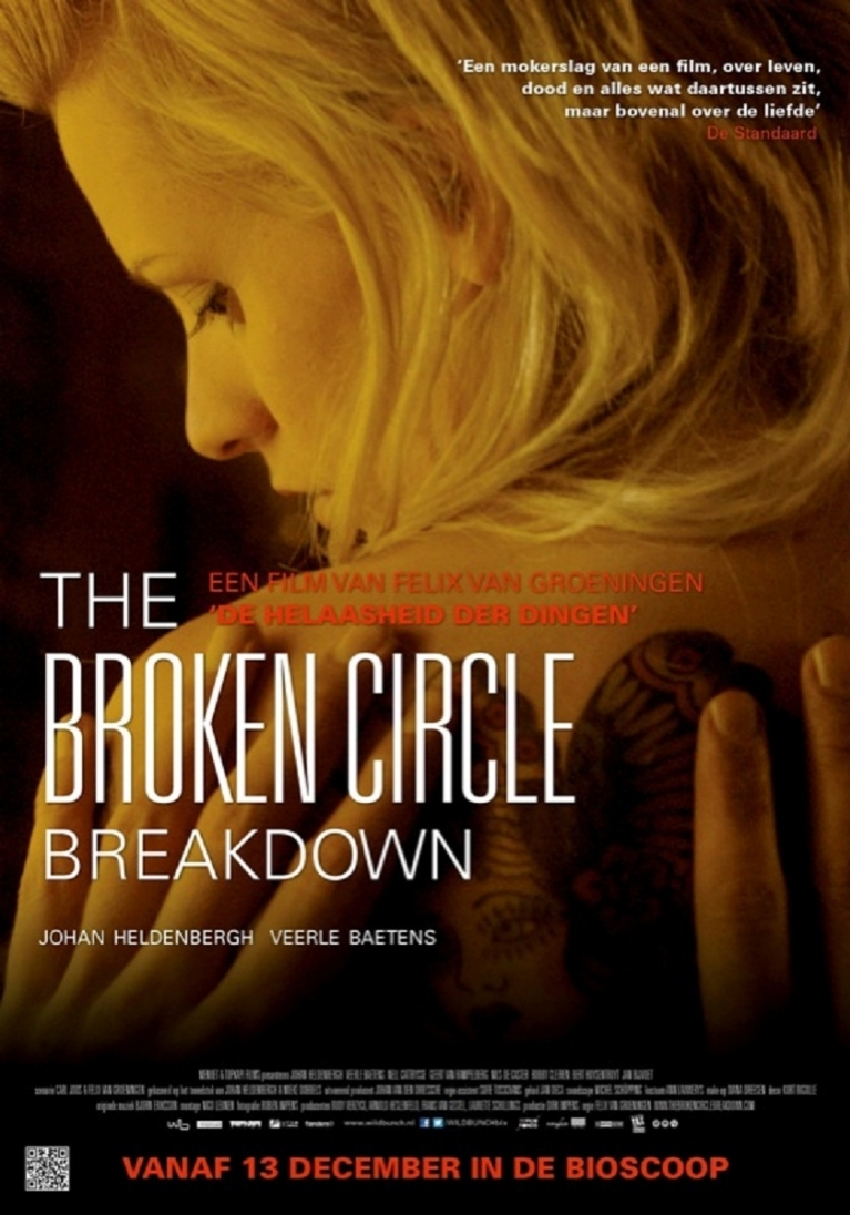 The Broken Circle Breakdown poster, © 2012 Wild Bunch