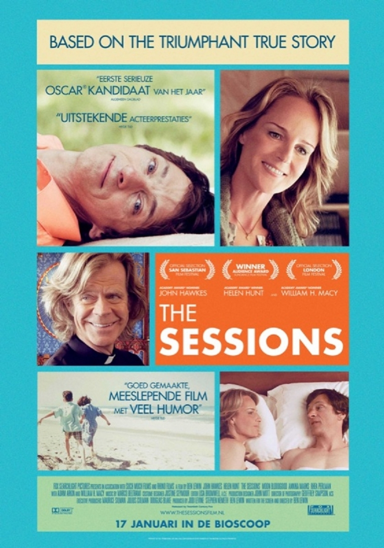 The Sessions poster, © 2012 20th Century Fox