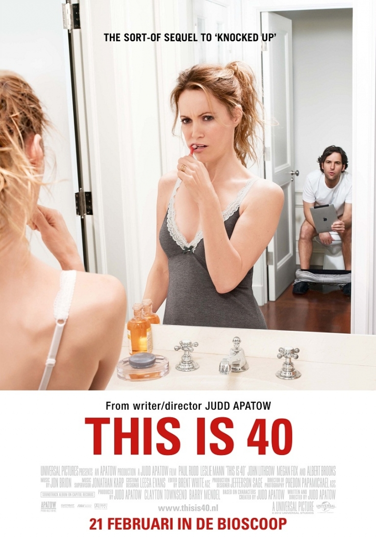 This Is 40 poster, © 2012 Universal Pictures International
