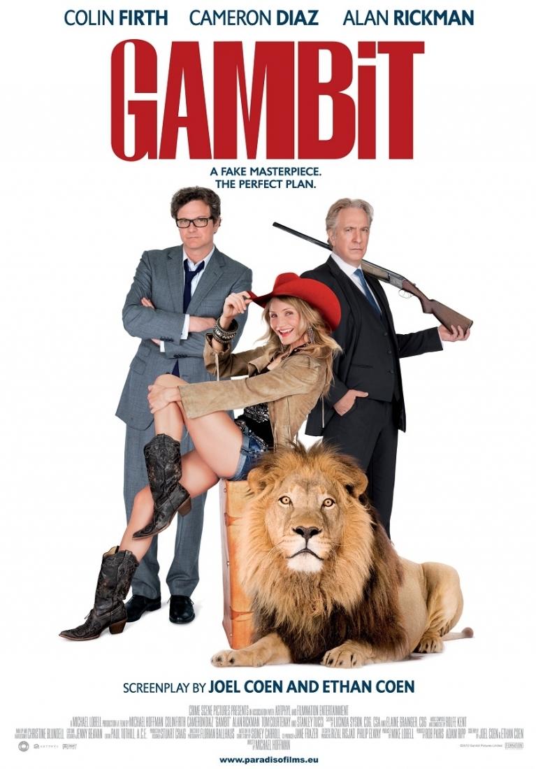 Gambit poster, © 2012 Paradiso