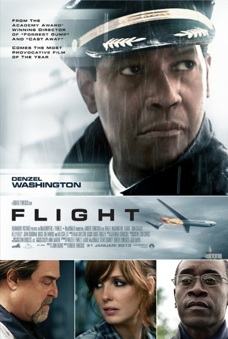 Flight poster, © 2012 Universal Pictures International