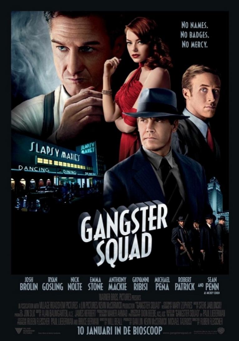 Gangster Squad poster, © 2012 Warner Bros.