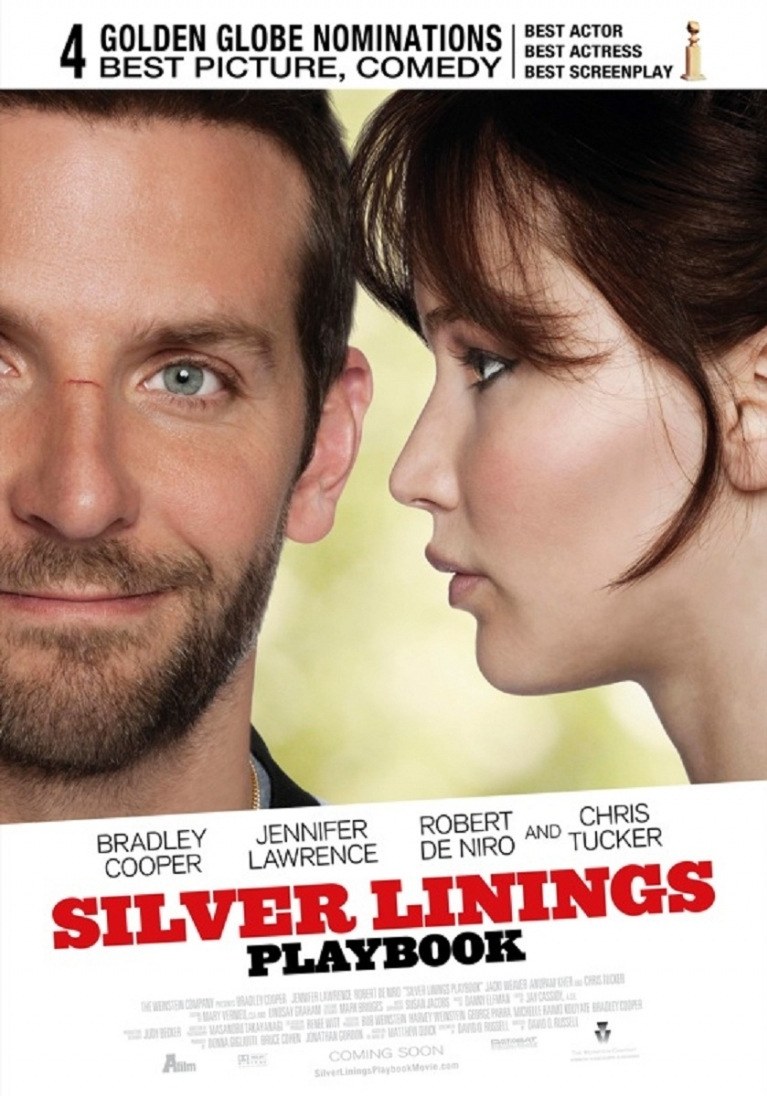 Silver Linings Playbook poster, © 2012 A-Film Distribution
