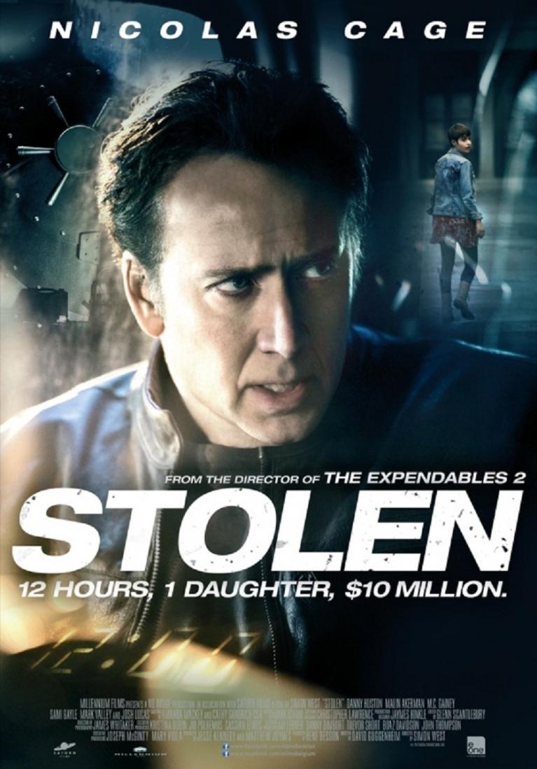 Stolen poster, © 2012 E1 Entertainment Benelux
