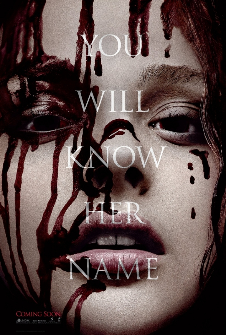 Carrie poster, © 2013 Sony Pictures Releasing