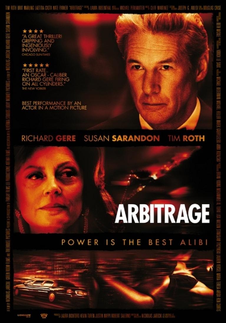 Arbitrage poster, © 2012 Dutch FilmWorks