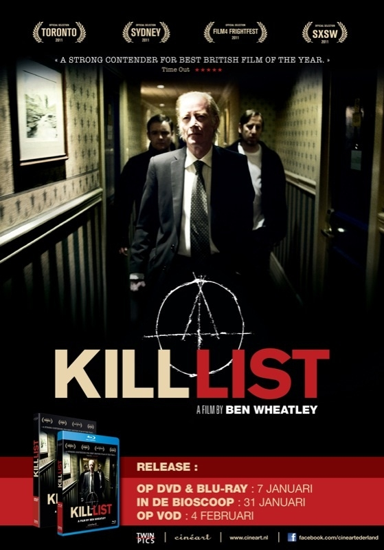 Kill List poster, © 2011 Cinéart