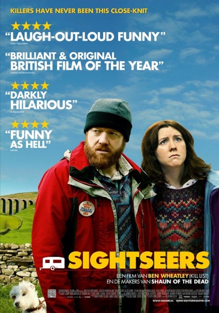 Sightseers poster, © 2012 Cinéart