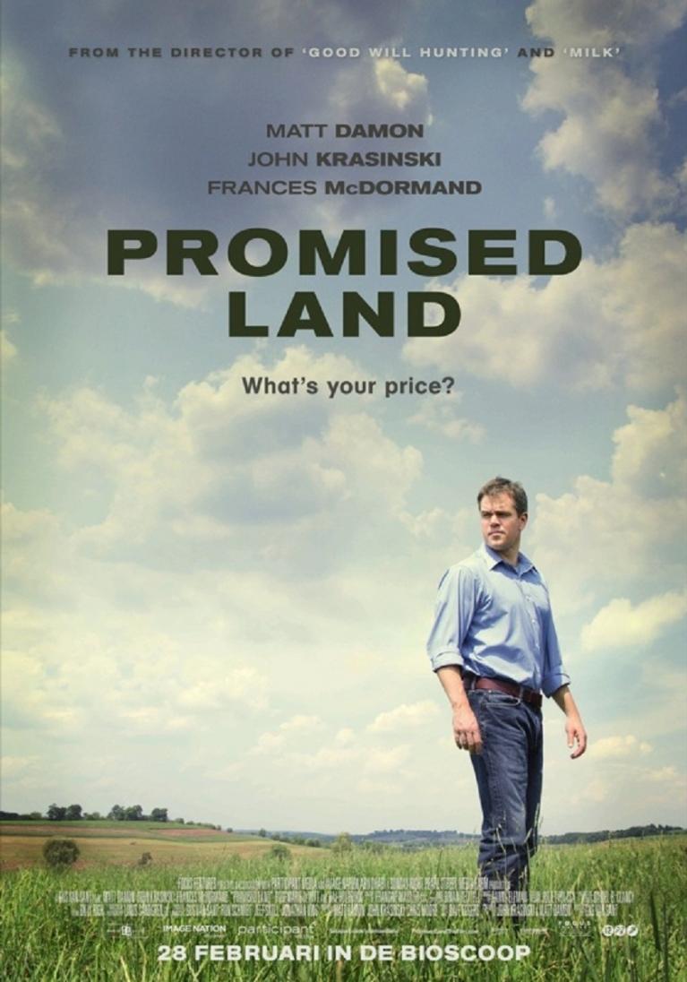 Promised Land poster, © 2012 Benelux Film Distributors