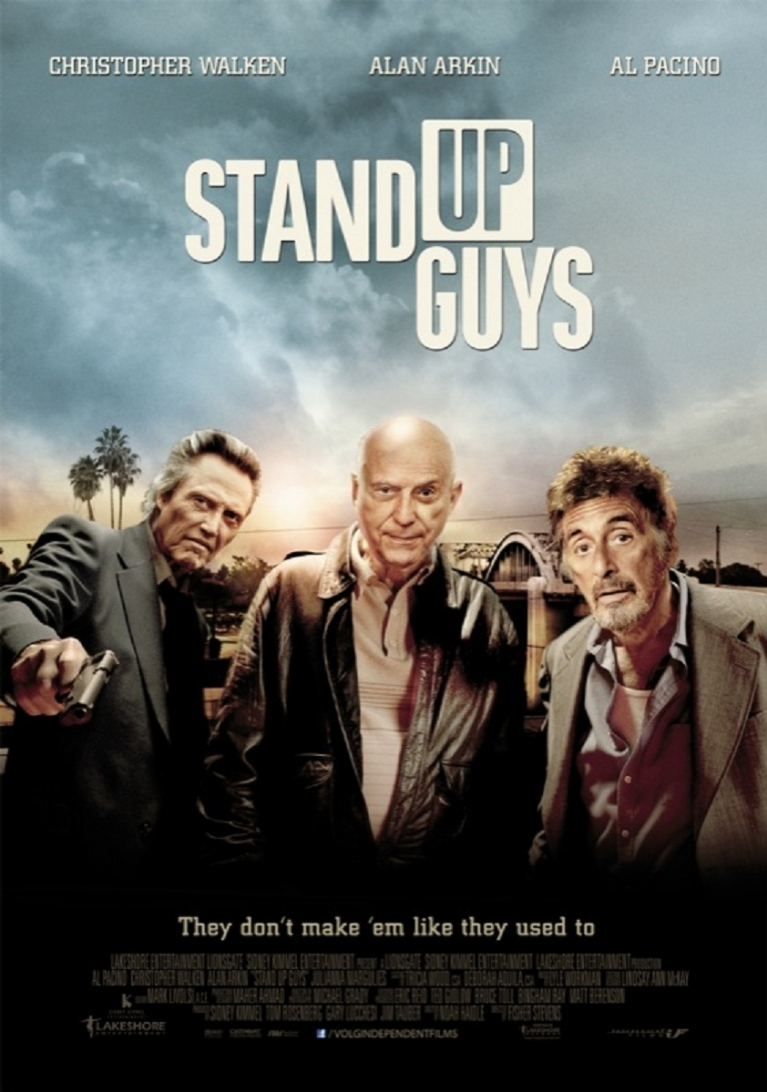 Stand Up Guys poster, © 2012 Independent Films