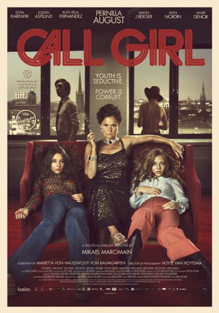 Call Girl poster, © 2012 Lumière