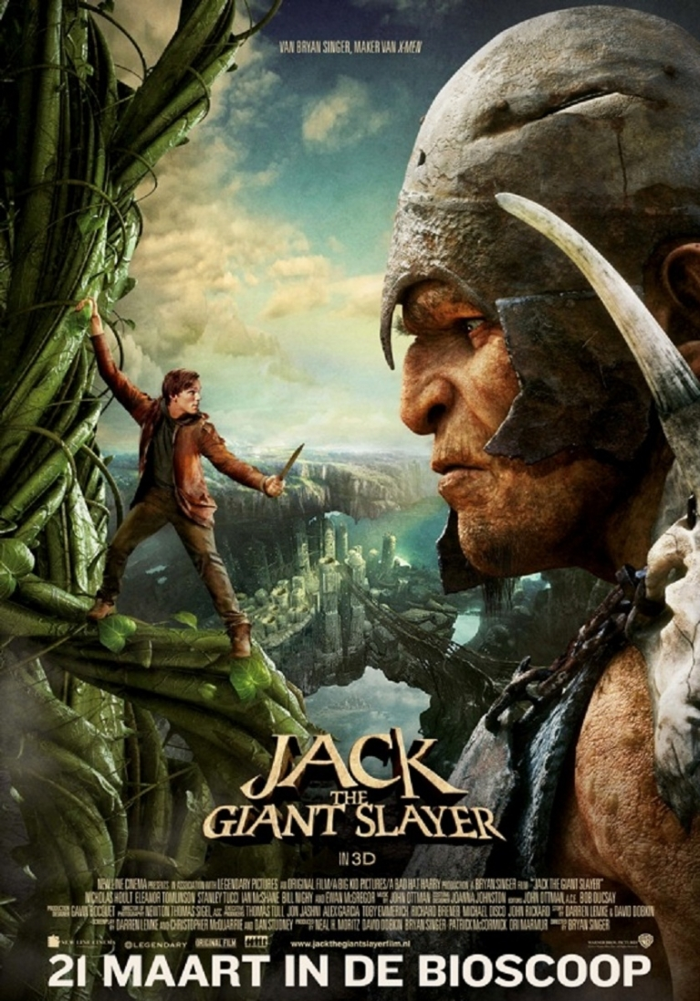Jack the Giant Slayer 3D poster, © 2012 Warner Bros.