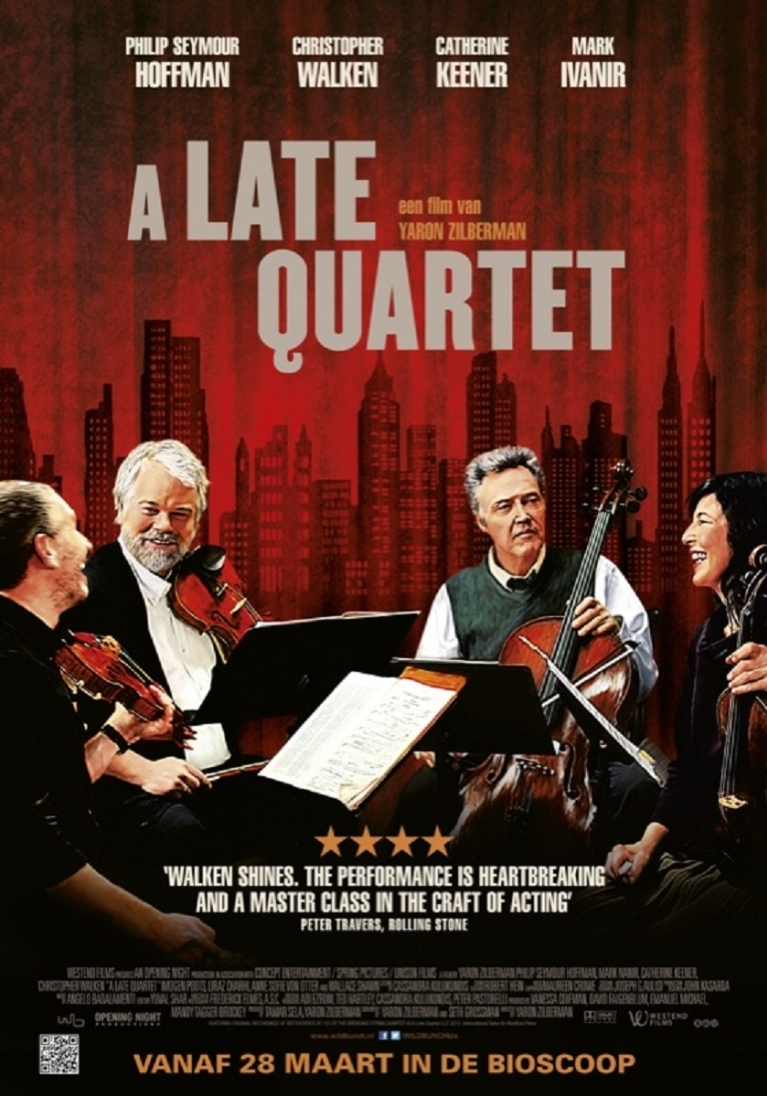 A Late Quartet poster, © 2012 Wild Bunch