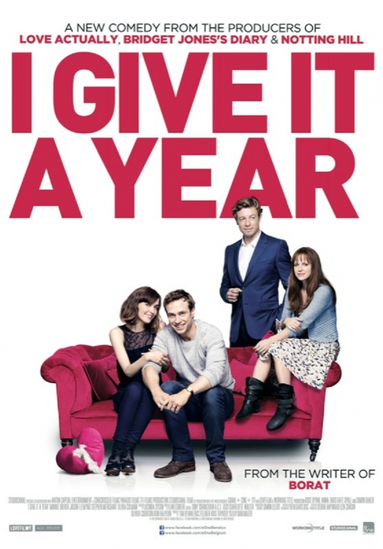 I Give It a Year poster, © 2013 E1 Entertainment Benelux