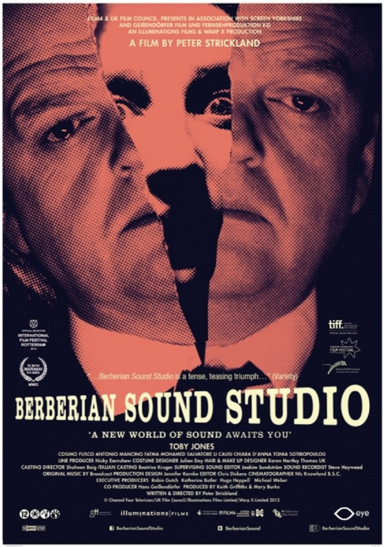 Berberian Sound Studio poster, © 2012 Eye Film Instituut