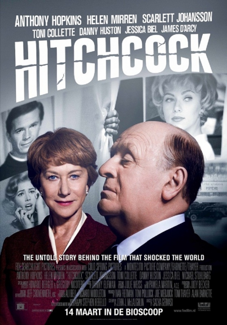 Hitchcock poster, © 2012 20th Century Fox