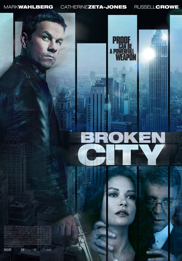 Broken City poster, © 2013 Dutch FilmWorks