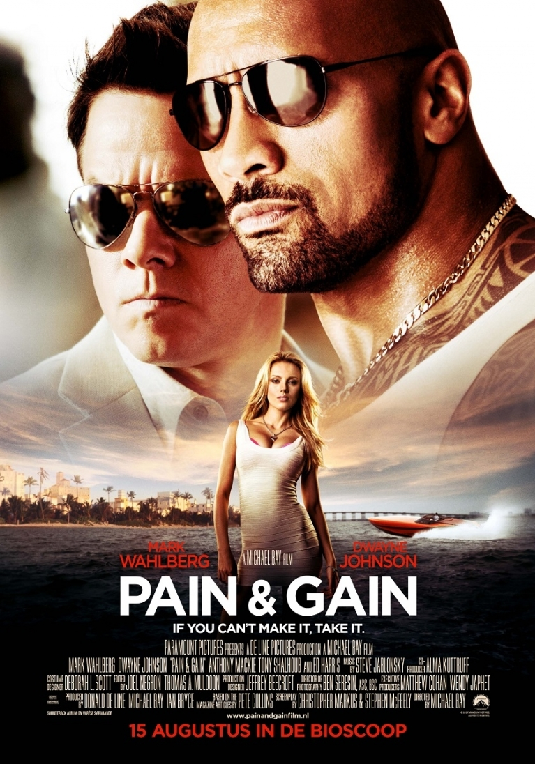Pain and Gain poster, © 2013 Universal Pictures