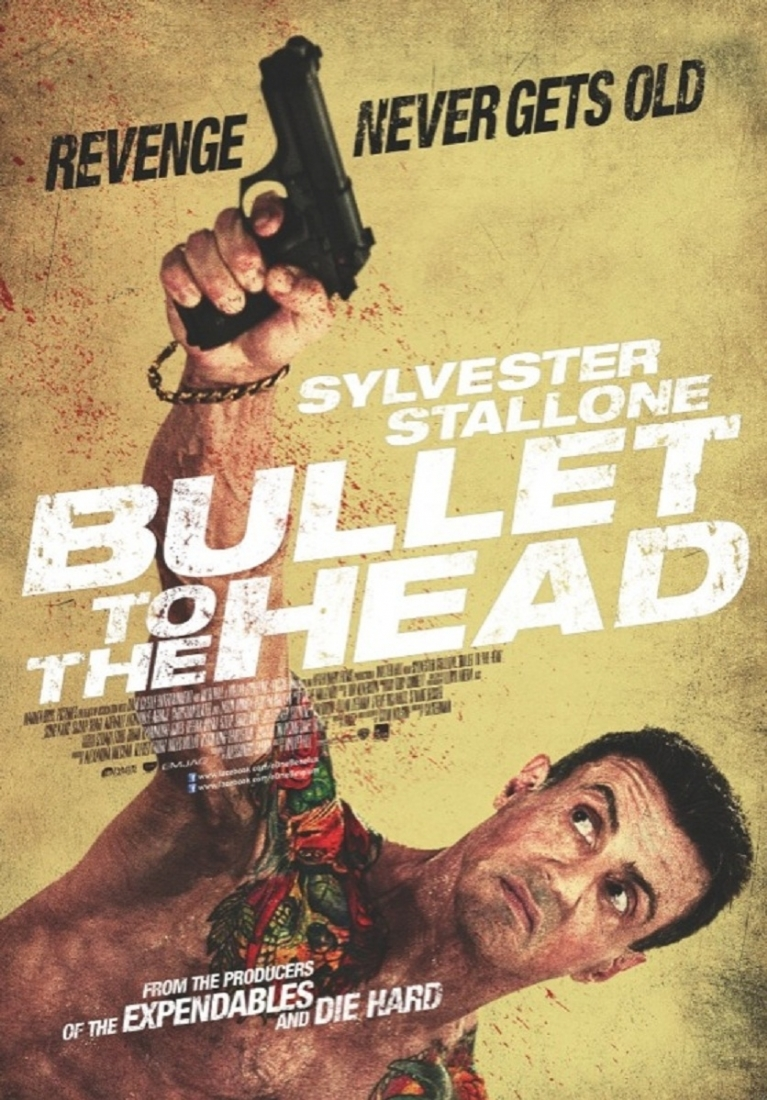 Bullet to the Head poster, © 2012 E1 Entertainment Benelux