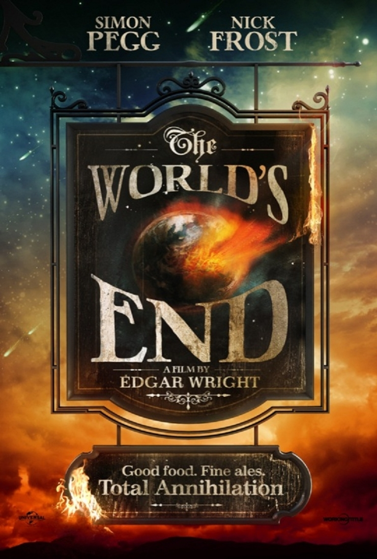 The World's End poster, © 2013 Universal Pictures International