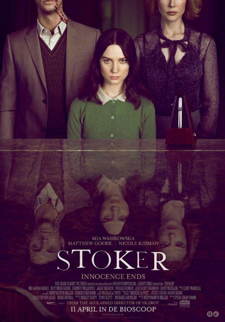 Stoker poster, © 2013 Fox Searchlight Pictures