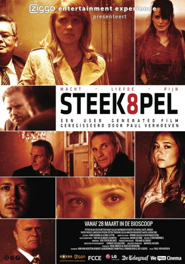 Steekspel poster, © 2011 Amsterdam Film Distribution