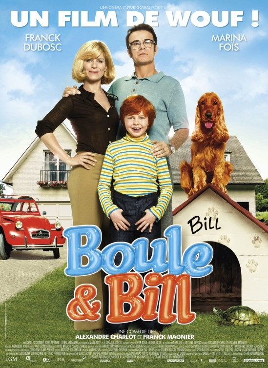 Boule & Bill poster, copyright in handen van productiestudio en/of distributeur