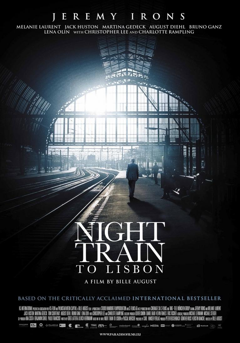 Night Train to Lisbon poster, © 2013 Paradiso