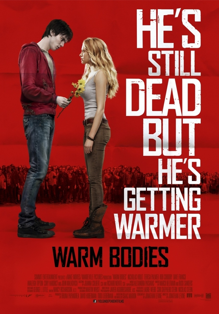 Warm Bodies poster, © 2013 Independent Films