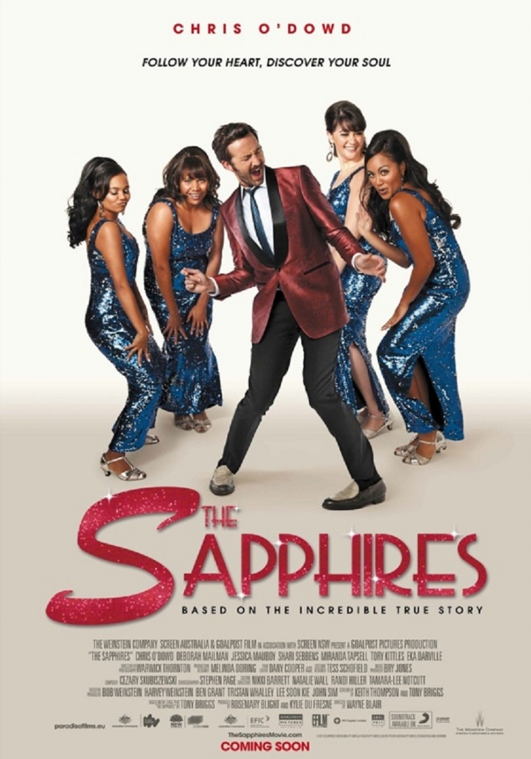 The Sapphires poster, © 2012 Paradiso