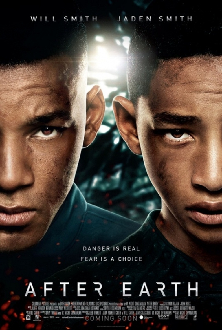 After Earth poster, © 2013 Universal Pictures International
