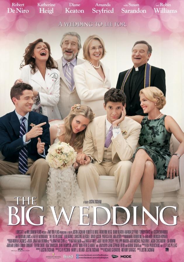 The Big Wedding poster, © 2012 E1 Entertainment Benelux