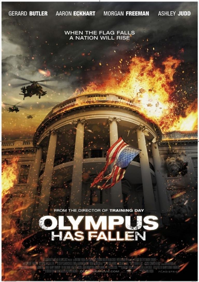 Olympus Has Fallen poster, © 2013 Dutch FilmWorks