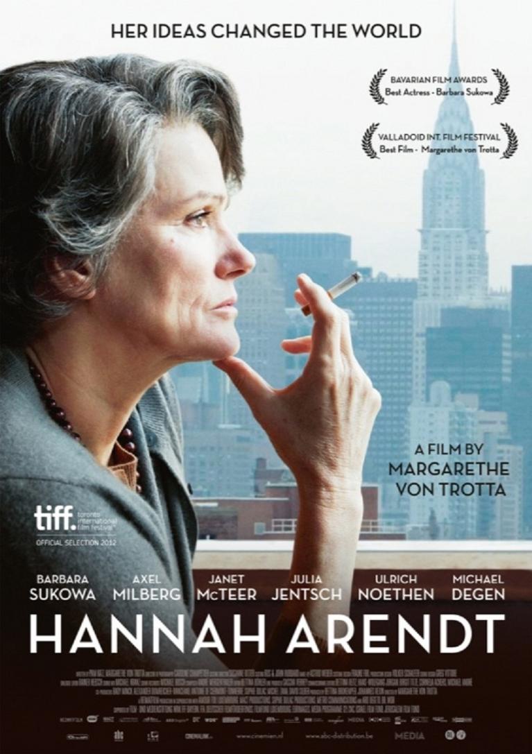 Hannah Arendt poster, © 2012 Cinemien